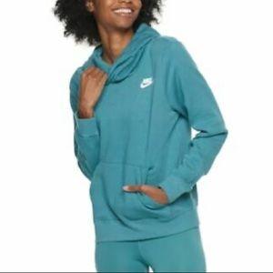 Women's Nike NSW Funnel-Neck Hoodie, Sz M NWT